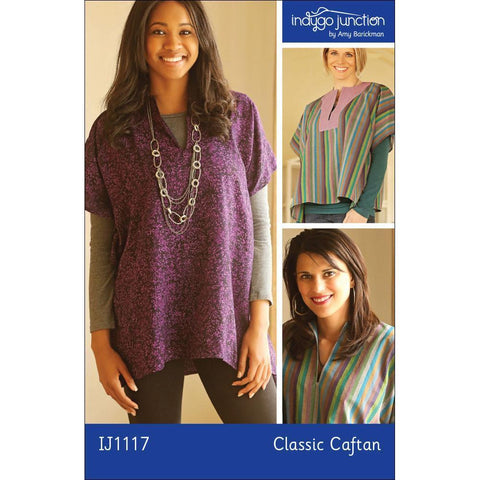 "INDYGO JUNCTION ""CLASSIC CAFTAN"" Sewing Pattern"