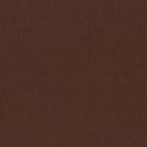 "ROBERT KAUFMAN ""ESSEX"" Linen Cotton Blend COCOA by the 1/2 yard"