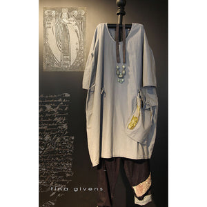 "TINA GIVENS ""PORSCHE TUNIC"" Sewing Pattern"