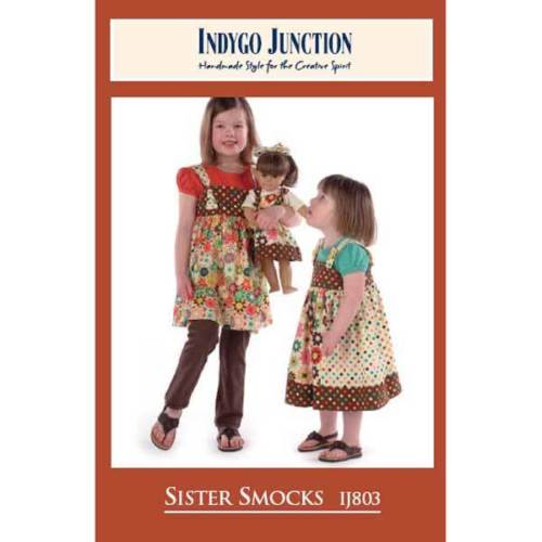 "INDYGO JUNCTION ""SISTER SMOCKS"" Sewing Pattern"