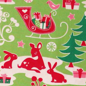 "MICHAEL MILLER ""YULE CRITTERS"" Lime"