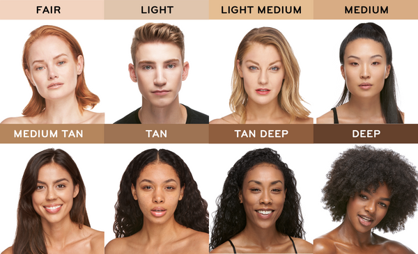 8 SHADES with models