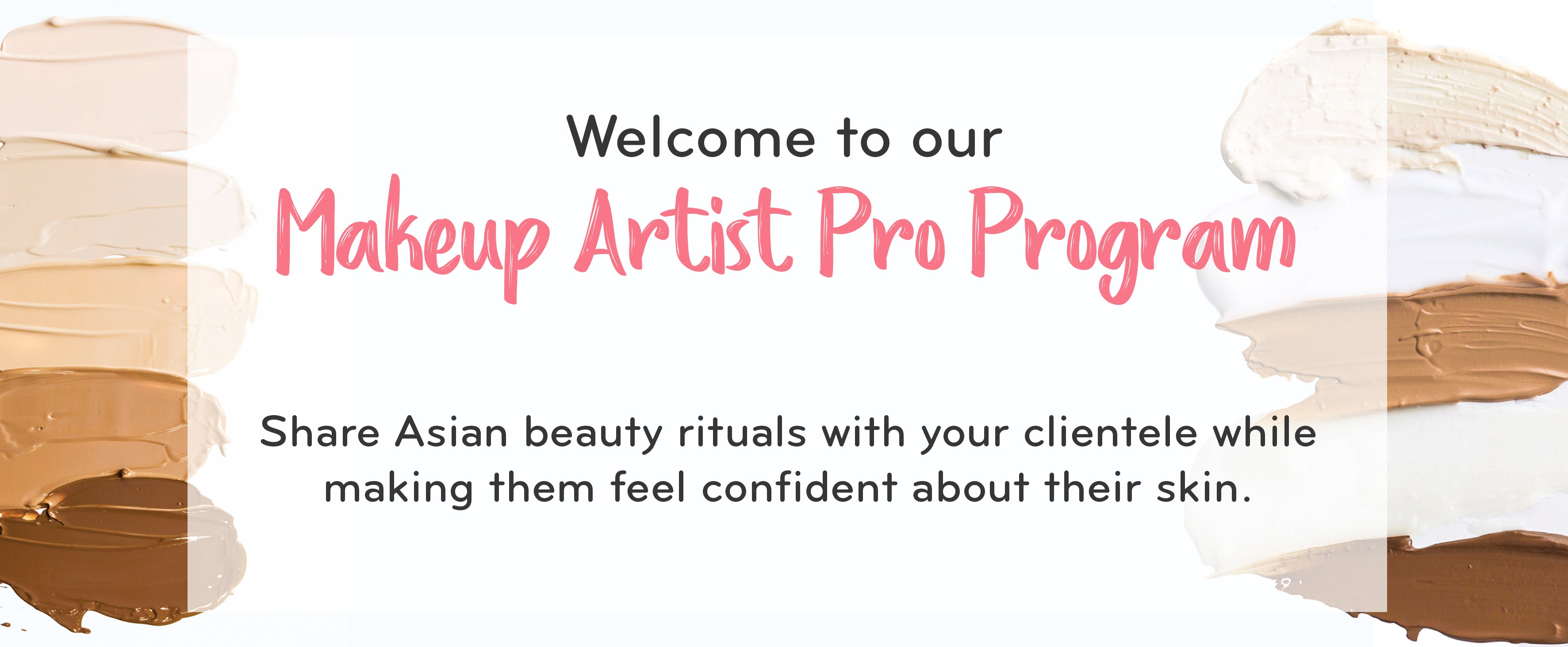 Join our MUA Pro Program!