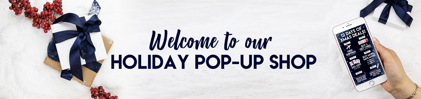 Welcome to our Holiday Pop-Up Shop