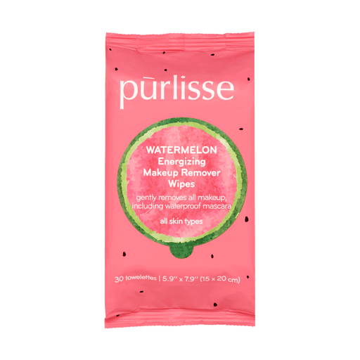 Watermelon Energizing Makeup Remover Wipes