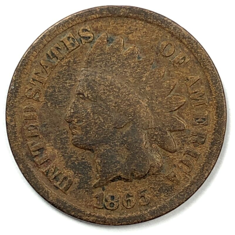 1865 United States Indian Head Cent Penny G Beatricegold