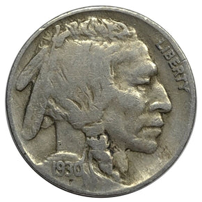 1930 United States Indian Head Buffalo Nickel - VF