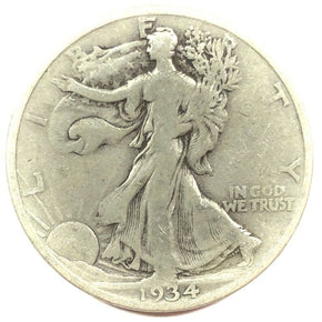 1934-S United States Silver Walking Liberty Half Dollar - G