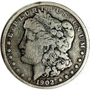 1902 United States Silver Morgan Dollar - G