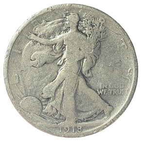 1918-S United States Walking Liberty Half Dollar - G