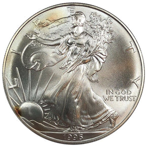 1996 United States 1oz Silver Eagle - BU