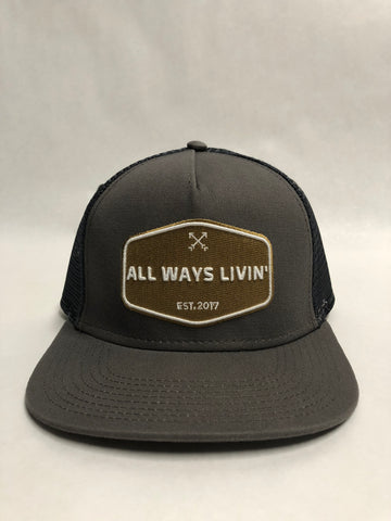 Stay Golden - Charcoal Grey Snapback