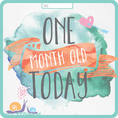 'Month old' Cards - Premmie Milestone Cards - Digital Prints - Online Exclusive