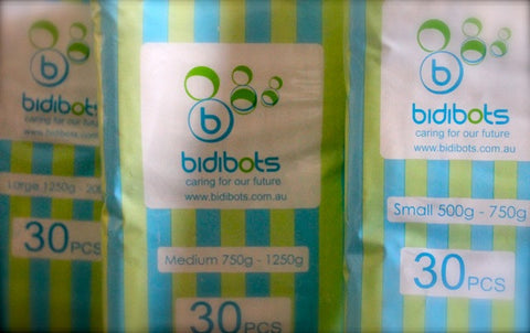 Bidibots premature baby nappies