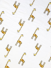 Aden + Anais swaddle - 100% cotton muslin - Giraffe