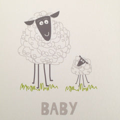 Lauren Hinkley baby sheep gift card