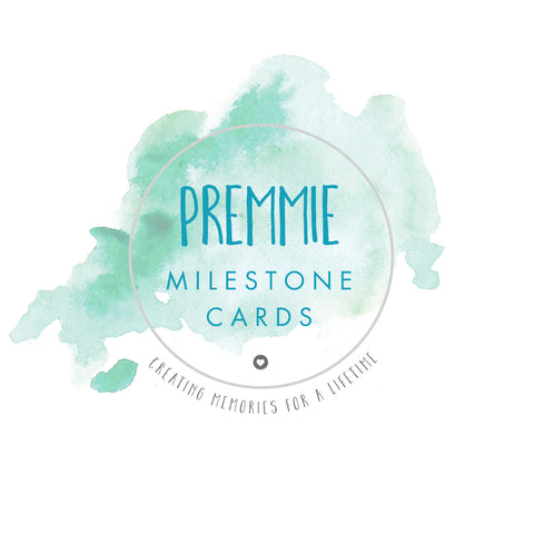 Premmie Milestone Cards - Digital Prints - 5 Cards