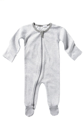 Purebaby zip growsuit