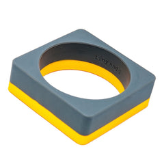 Tiny and I bangle - Yellow/charcoal