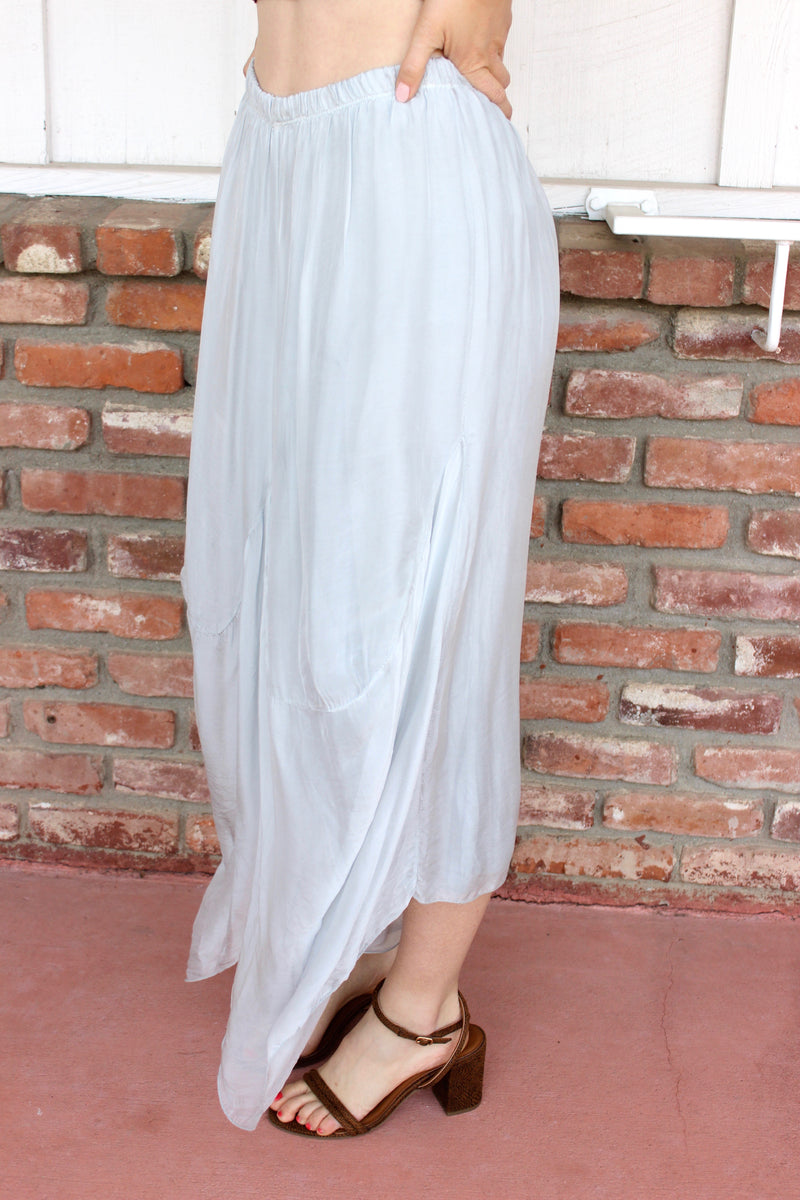 summer breeze silk balloon pants