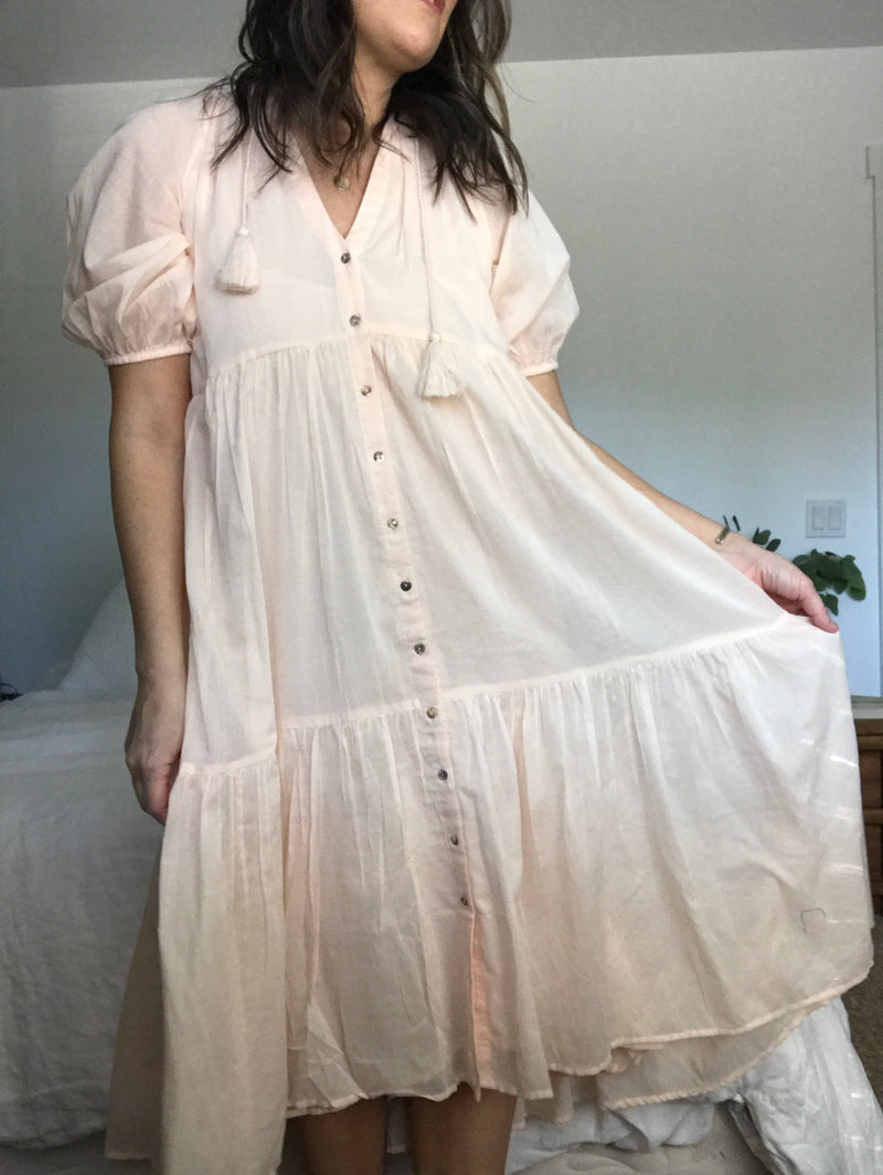 Honey Smock Dress
