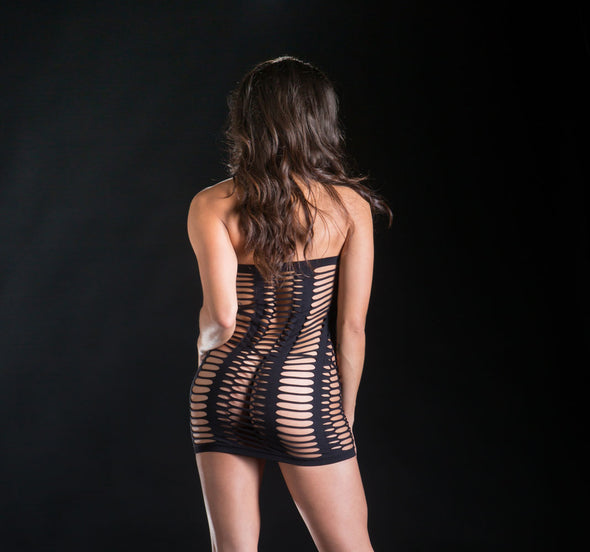 Tube Dress - One Size - Black