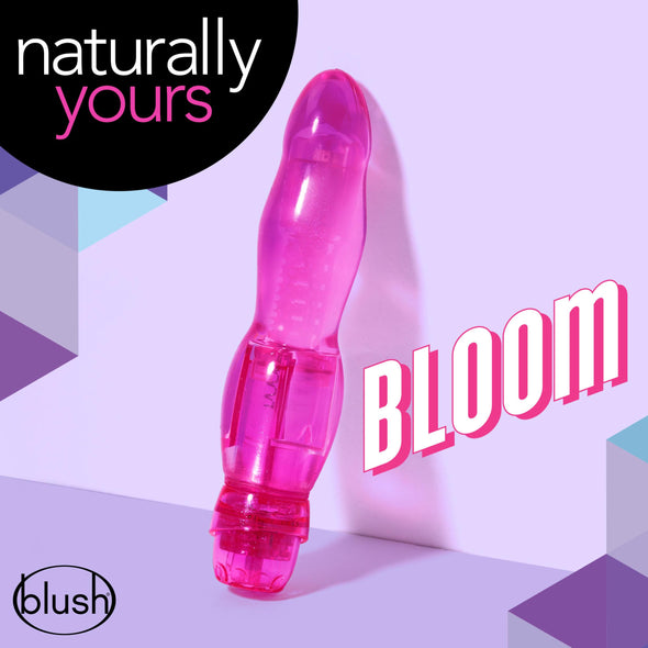 Naturally Yours - Bloom - Pink-Vibrators-Blush Novelties-Andy's Adult World