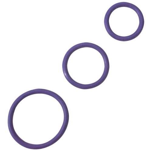 Rubber C-Ring Set - Purple