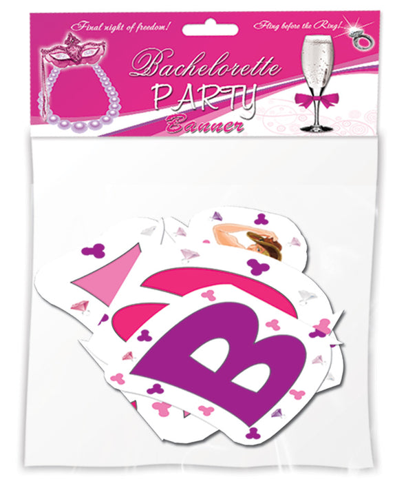 Bachelorette Party Letter Banner