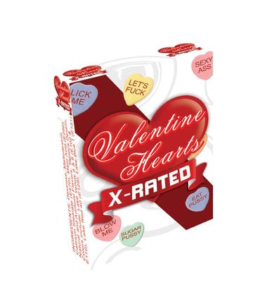 Valentine Hearts X-Rated Candy