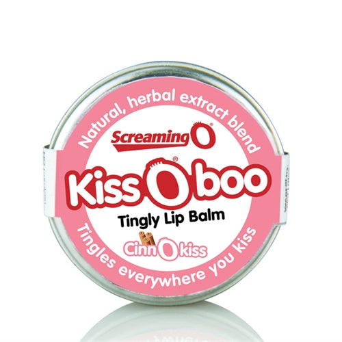 Kissoboo Tingly Lip Balm - Each - Cinnokiss