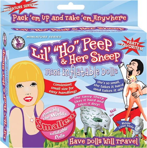 Lil' Ho Peep & Her Sheep Inflatable Dolls