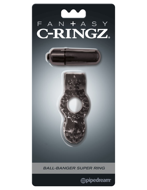 Fantasy C-Ringz Ball-Banger Super Ring Black