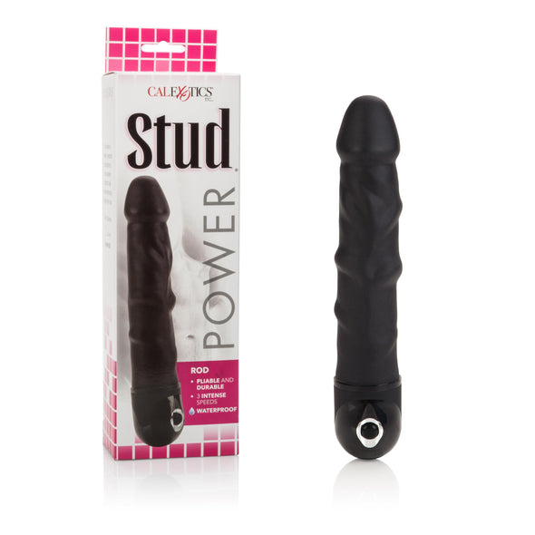 Waterproof Power Stud Rod Dong - Black
