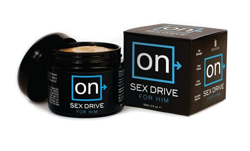 On Sex Drive for Him - 2 Oz.