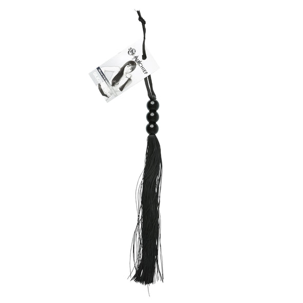 Sex and Mischief Medium Whip - Black