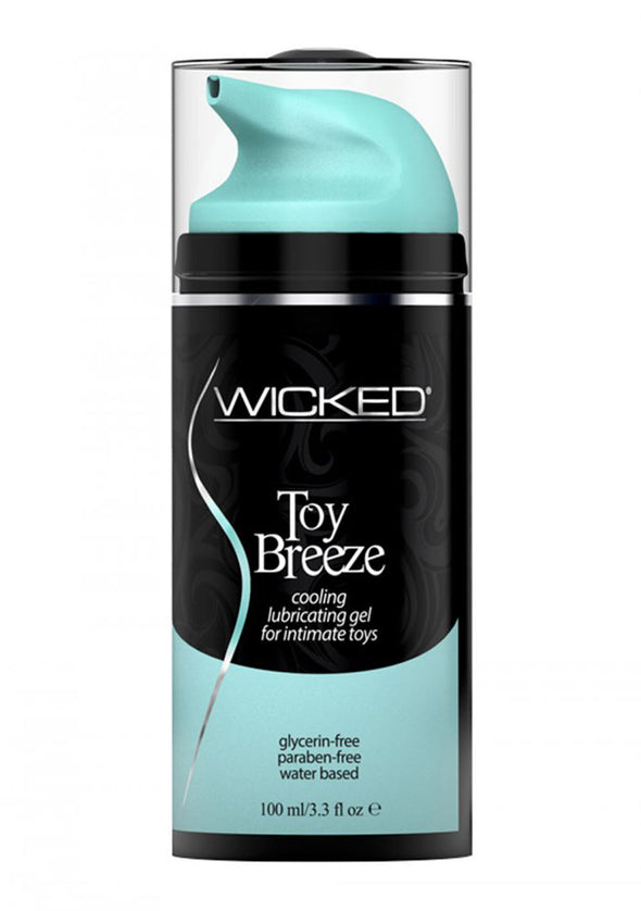 Wicked Toy Breeze Cooling Lubricating Gel Water Based for Intimate Toys