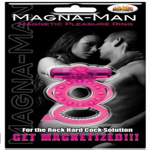 Magna Man Magnetic Ring - Magenta