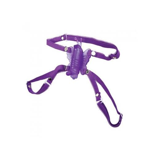 Micro Wireless Venus Butterfly Stimulator - Purple