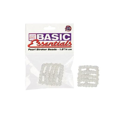Basic Essentials Pearl Stroker Beads - Small