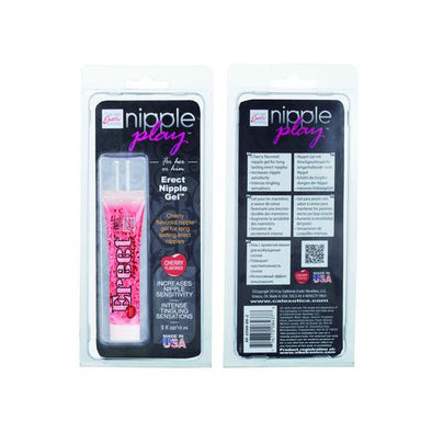 Nipple Play Erect Nipple Gel - Cherry