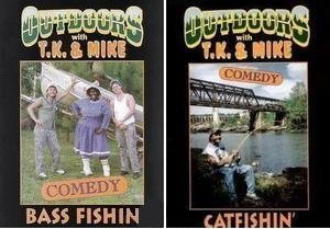 TK & Mike Catfish and Bass Fishing Set of Two DVD