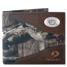 Load image into Gallery viewer, South Carolina Gamecocks Mossy Oak Camo Bifold Wallet