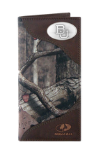 Load image into Gallery viewer, Baylor Bears Roper Mossy Oak Camo Wallet