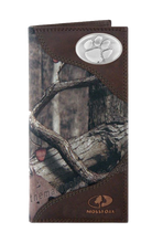 Load image into Gallery viewer, Clemson Tigers Roper Mossy Oak Camo Wallet