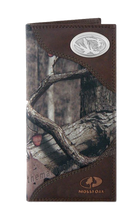 Load image into Gallery viewer, Missouri Tigers Roper Mossy Oak Camo Wallet
