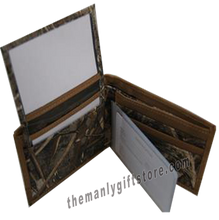 Load image into Gallery viewer, West Virginia Zep Pro Bifold Wallet REALTREE MAX-5 Camo