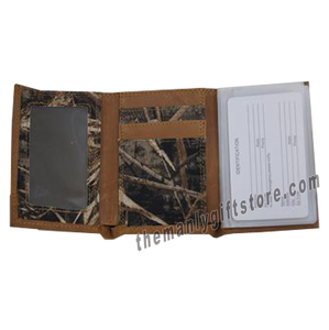 Largemouth Bass Zep Pro Trifold Wallet REALTREE MAX-5 Camo