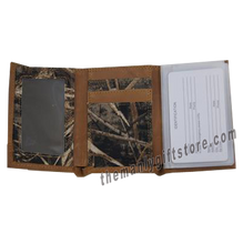Load image into Gallery viewer, Mossy Oak Logo Zep Pro Trifold Wallet REALTREE MAX-5 Camo