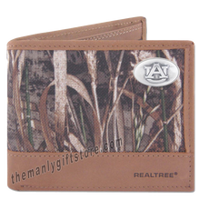 Load image into Gallery viewer, Auburn Tigers Zep Pro Bifold Wallet REALTREE MAX-5 Camo